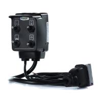 Caja mando 4668 2 vías gen/ presión p/comando atomizador T4 s/cable