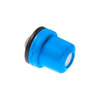Boquilla de nebulización - sanitización BBM, color azul, cono hueco