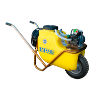 Carretilla pulverizadora 75 L con grupo motobomba Kappa-15  220 V