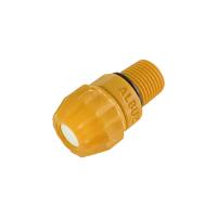 Boquilla de nebulización - sanitización BHM, color amarillo, cono lleno