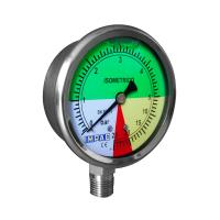 "Manómetro Isométrico 0-25 Bar 63mm Conex. 1/4"""
