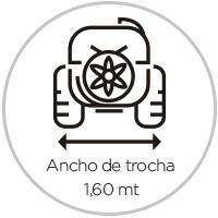 Ancho de trocha Atomizadores 3000 litros