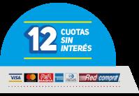 12 cuotas sin intereses IMPAC