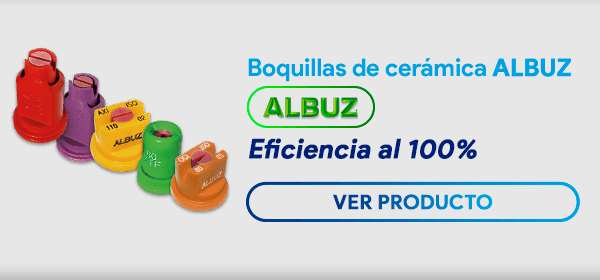Boquillas de cerámica ALBUZ Impac