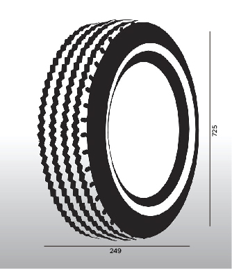 Neumático 225-75