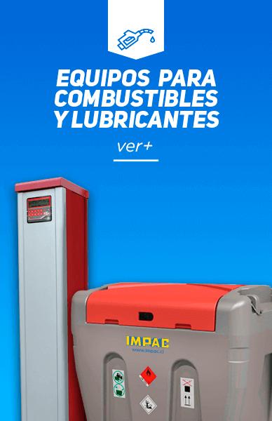 Equipos para combustible y lubricantes
