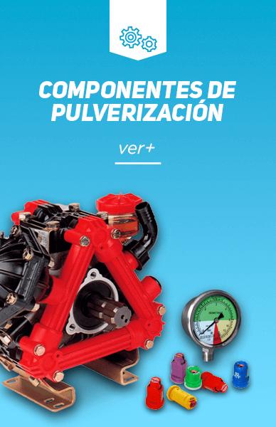 Componentes de pulverización