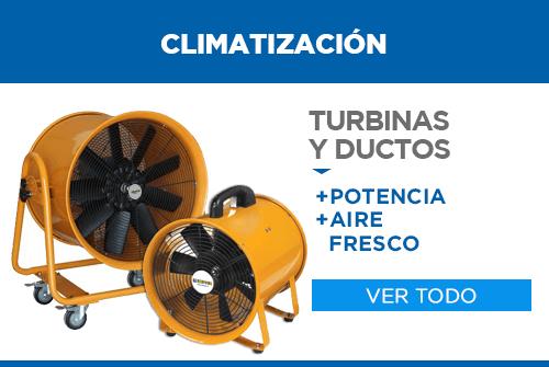 turbinas y ductos